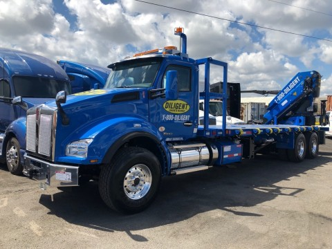 Diligent First in Florida Providing Washout Pan Service. (Photo: Business Wire)