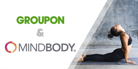 Groupon is expanding its partnership with MINDBODY to connect Groupon users with thousands more bookable fitness, beauty and wellness experiences in their local neighborhoods. (Photo: Business Wire)