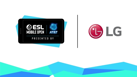 ESL North America Partners with LG for Season 3 of the ESL Mobile Open Presented by AT&T (Graphic: Business Wire)