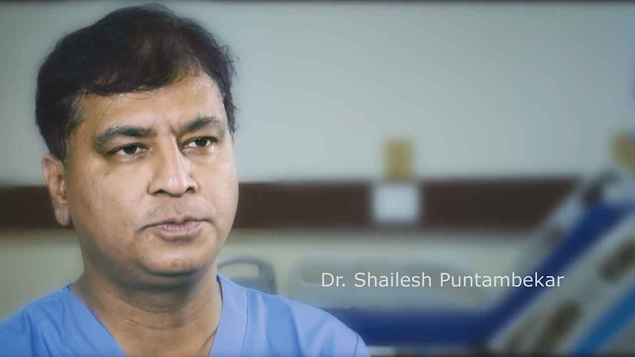 Interview with Dr Shailesh Puntambekar, Consultant Oncologist, Surgeon and Medical Director of Galaxy Care. Caption free version available. Please credit CMR Surgical.