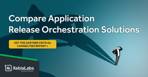 """XebiaLabs received a score of 4.89 out of 5 in the release manager use case and a score of 4.84 out of 5 in the application/product owner use case in Gartner's """"Critical Capabilities for Application Release Orchestration"""" report. (Graphic: Business Wire)"""