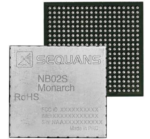 Sequans Monarch NB02S Module (Photo: Business Wire)