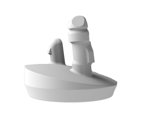 Catalyst's unique Augmented Glenoid component was developed for correcting posterior glenoid bone deficiencies. The 3-pegged design provides secure, immediate fixation, while the technique and instrumentation permits a tissue-sparing oblique approach. (Photo: Business Wire)
