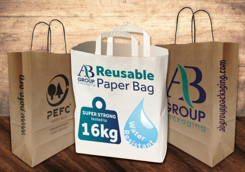 AB Group Packaging and PEFC Push Sustainability on European Paper Bag Day and COP25, in Response to the Global Plastic Crisis (Photo: Business Wire)
