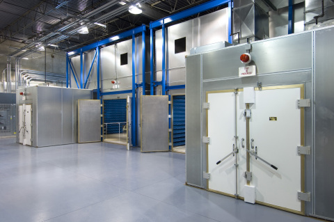 EMI/EMC Chambers at the NTS Rockford Laboratory (Photo: Business Wire)