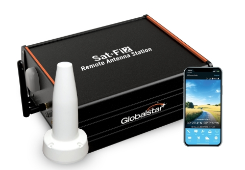 With Sat-Fi2 Remote Antenna Station users can access the Globalstar Satellite Network via any Wi-Fi enabled smart device for reliable connectivity inside vehicles vessels and remote buildings Photo Business Wire