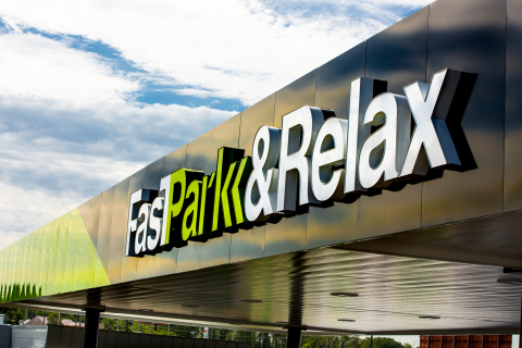 All Fast Park & Relax facilities exclusively accept credit card payments. (Photo: Business Wire)