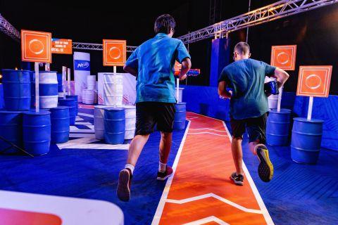 Blaster Run - NERF Challenge Interactive Activation (Photo: Business Wire)