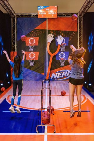 Basketball - NERF Challenge Interactive Activation (Photo: Business Wire)