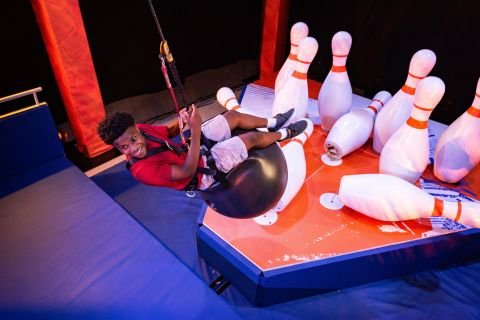NERF Challenge Wrecking Bowling – Bowling with a twist as you become a human wrecking ball with a single purpose: scoring the elusive strike! (Photo: Business Wire)