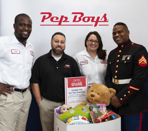 Toys for Tots collection bins will be placed in nearly 1,000 locations in the U.S. and Puerto Rico. Customers who donate can receive a discount on parts, accessories or service. (Photo: Business Wire)