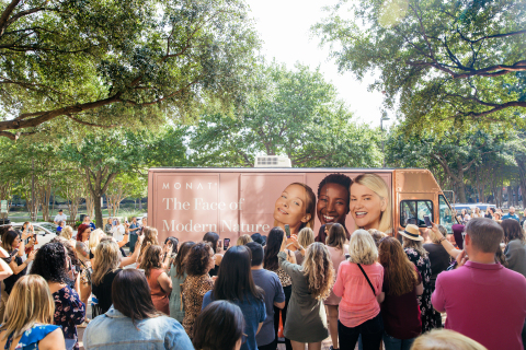 MONAT is rolling out its Skincare line through The Healthy Skin Revolution Tour, a mobile effort with two revolutionary spa trucks making stops across 14 cities across the United States and Canada. (Photo: Business Wire)