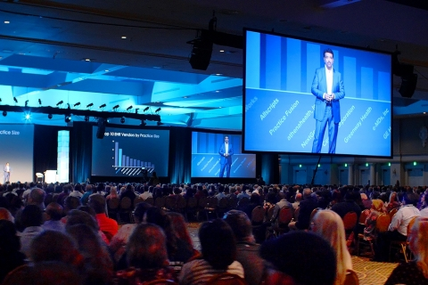 eClinicalWorks kicks off 2019 National Conference with over 4,500 attendees. (Photo: Business Wire)