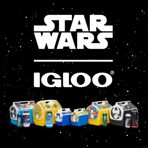 Igloo Launches Line of Classic Star Wars Coolers (Photo: Business Wire)