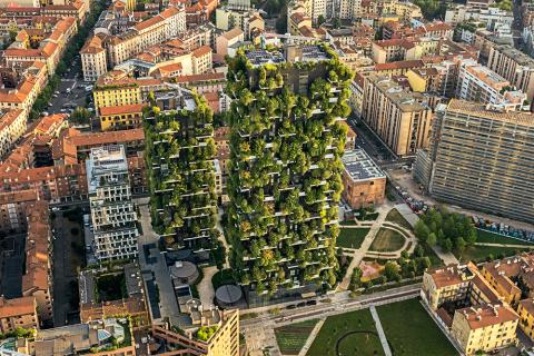 Vertical Forest by Boeri Studio (Photo: Dimitar Harizanov)