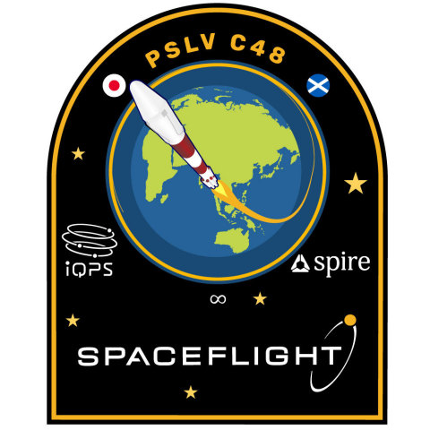 Spaceflight's mission patch for PSLV C48 (Graphic: Business Wire)