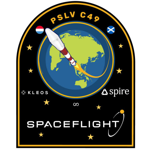 Spaceflight's mission patch for PSLV C49 (Graphic: Business Wire)