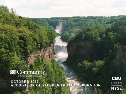 Investor Presentation for Acquisition of Steuben Trust Corporation