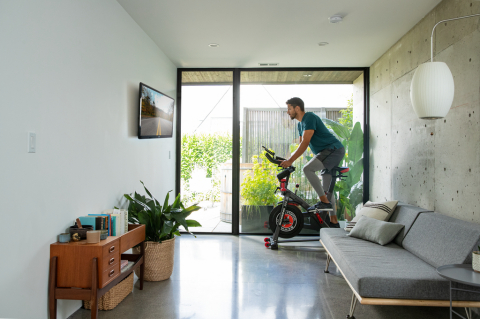 The new Schwinn IC4 bike offers a high-quality, feature-rich design and delivers a connected fitness experience at an affordable price. (Photo: Business Wire)