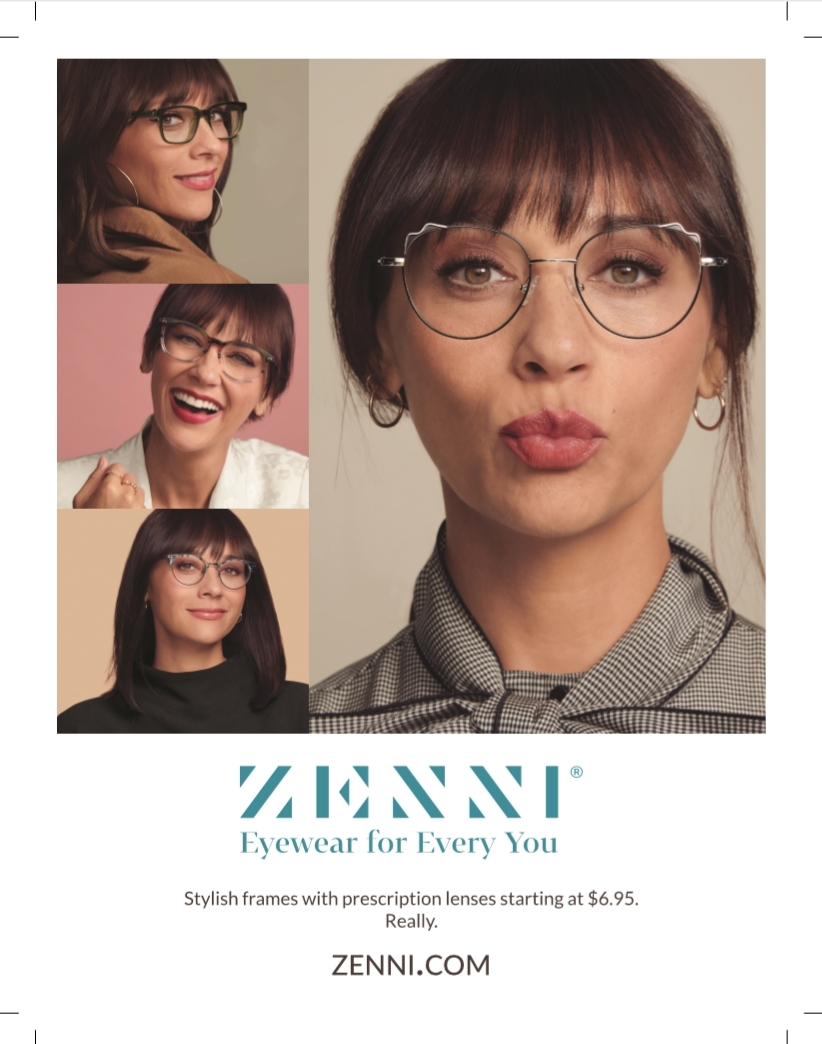 Zenni Partners with Rashida Jones in National Campaign to Inspire Shopping  Online for Stylish Eyewear and Blue Light Protection | Business Wire