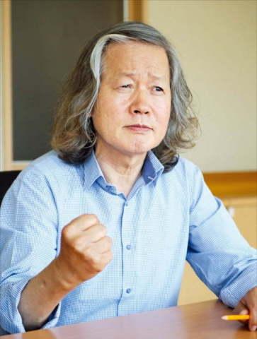 蓄髮明志,捍衛專利的首爾半導體創始人 李貞勳 (照片:美國商業資訊)