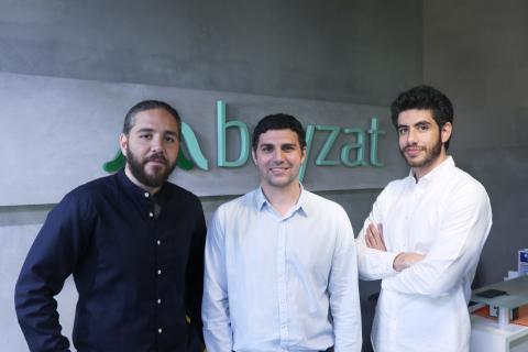Bayzat Co-Founders Tarek Bayaa, Brian Habibi, & Talal Bayaa (Photo: AETOSWire)