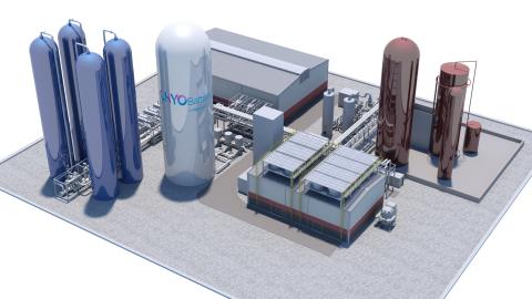Highview Power 50 MW/250 MWh CRYOBattery (Photo: Business Wire)