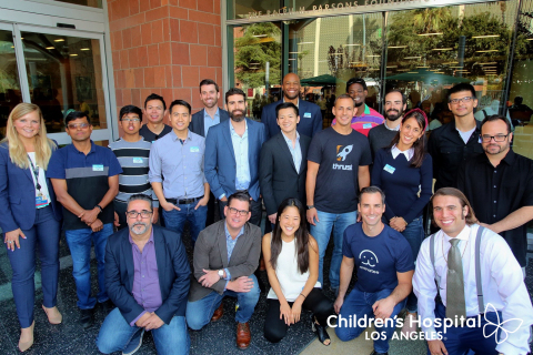 The Innovation Studio at Children's Hospital Los Angeles presents the participants of its first ever Digital Health Lab Demo Day. The Digital Health Lab is CHLA's accelerator program, which focuses on transforming pediatric health care through mobile games, virtual reality, augmented reality and immersive digital experiences. (Photo: Business Wire)