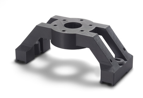 The new Diran 410MF07 from Stratasys is a nylon-based material for the F370 3D Printer - providing extreme toughness to withstand the rough handling of tools in the manufacturing setting (Photo: Business Wire)