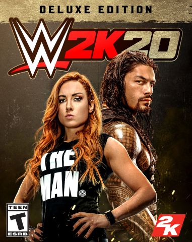 2K today announced that WWE® 2K20, the newest addition to the flagship WWE video game franchise, is now available worldwide for the PlayStation®4 computer entertainment system and Xbox One family of devices, including the Xbox One X, as well as Windows PC. (Photo: Business Wire)