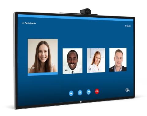 Elo Expands Award-Winning 4K Line with New 55-Inch Interactive Display (Photo: Business Wire)
