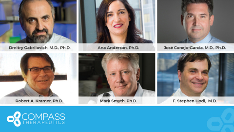 Compass Therapeutics Appoints Leading Immuno-Oncology Researchers to Its Immuno-Oncology Scientific Advisory Board (Photo: Business Wire)