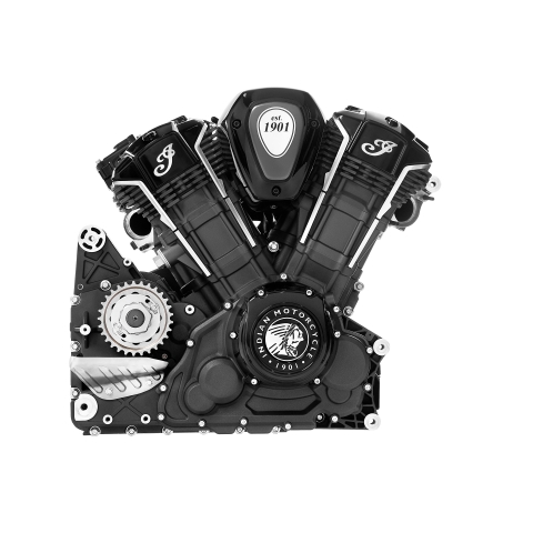 The PowerPlus is an all-new 108 cubic inch, liquid-cooled, V-twin engine delivering a class-leading 122 horsepower and 128 ft-lbs. of torque and establishes a dramatically new standard for V-twin performance. (Photo: Business Wire)