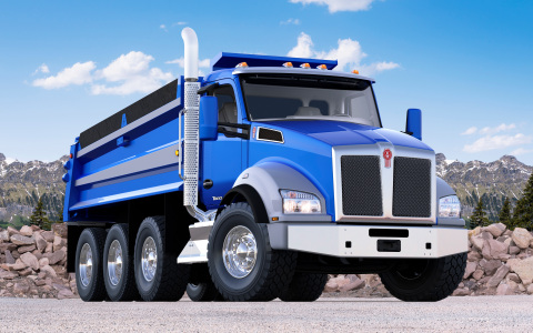 Kenworth T880 Truck (Photo: Business Wire)