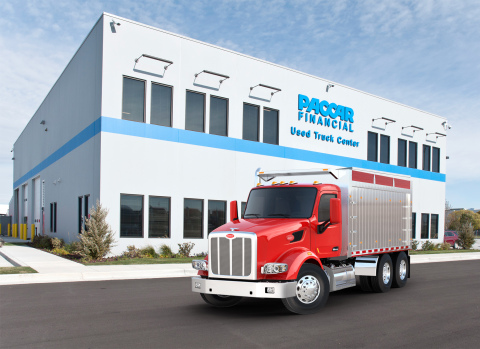 PACCAR Financial Used Truck Center (Photo: Business Wire)
