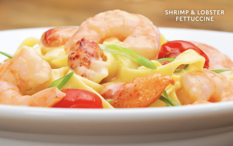 Shrimp & Lobster Fettuccine (Photo: Business Wire)
