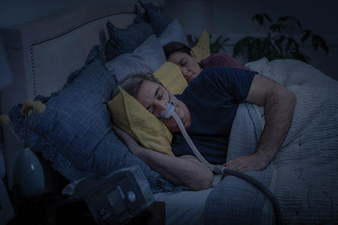 Man sleeping with AirFit N30 (Photo: Business Wire)