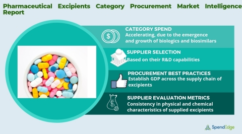 Global Pharmaceutical Excipients Market Procurement Intelligence Report. (Graphic: Business Wire)