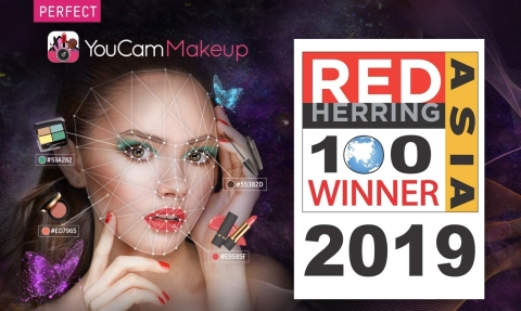 Perfect Corp. is honored with the prestigious Red Herring 2019 Top 100 award. (Photo: Business Wire)