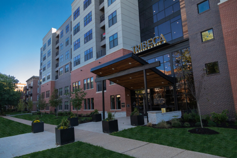 An exterior view of Tribeca, 5510 Pershing Avenue, St. Louis MO 63112  (Photo: Business Wire)