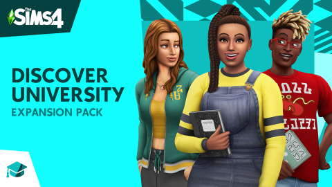 The Sims 4 Discover University expansion pack (Graphic: Business Wire)