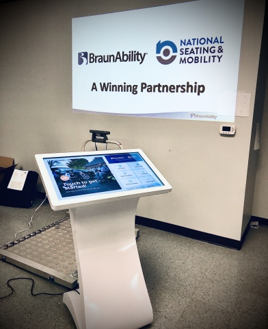 National Seating & Mobility Partners With BraunAbility to Launch Automotive Mobility Education Initiative (Photo: Business Wire)