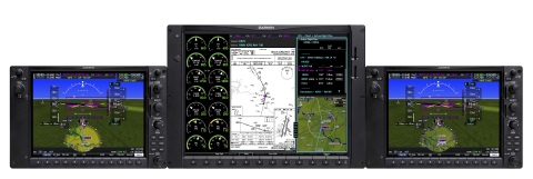 G1000 NXi integrated flight deck for the King Air C90. (Photo: Business Wire)