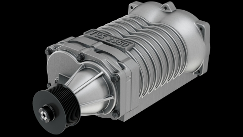 Eaton's TVS® R2650 supercharger helps boosts the hand-built and Ford Performance-tuned, 5.2-liter V8 engine that powers the all-new 2020 Shelby GT500. (Photo: Business Wire)