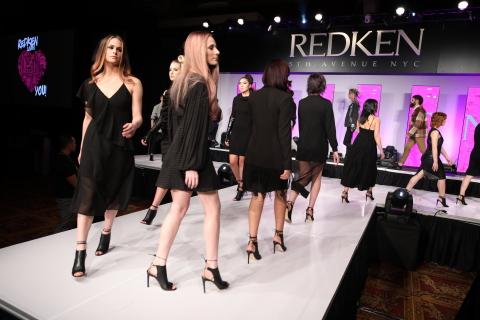 The Chatters Symposium featured a high-voltage runway show to highlight the hottest 2020 hair trends and styles (Photo: Business Wire)