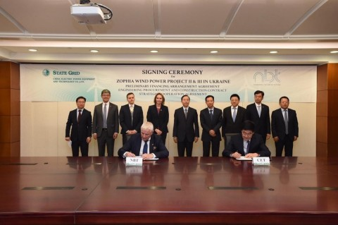 NBT and CET Sign EPC Contracts to Build the 750MW Zophia II and Zophia III Wind Farms in Ukraine (Photo: Business Wire)