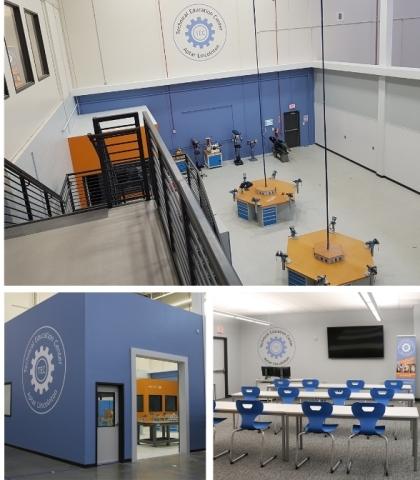 Photo: Aptar's Technical Education Center in Lincolnton, NC