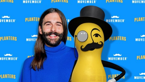 Mr. Peanut and Jonathan Van Ness Support Movember (Photo: Business Wire)