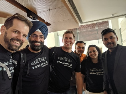 Traction on Demand team in Jaipur (Photo: Business Wire)