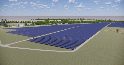 Pennsylvania's largest solar project involves installation of 150,000 solar panels across three locations spanning over 500 acres. (Photo: Lightsource BP)